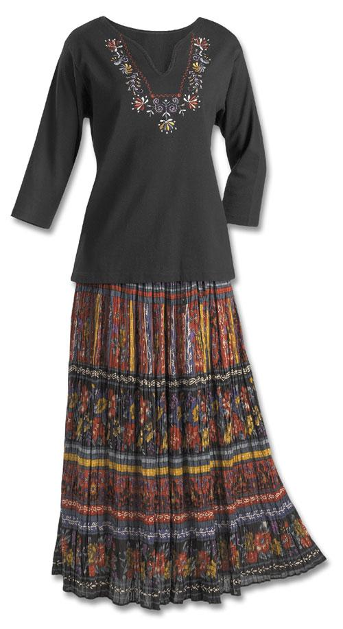 Crinkle Broomstick Skirt Dresses Amp Skirts Fashion