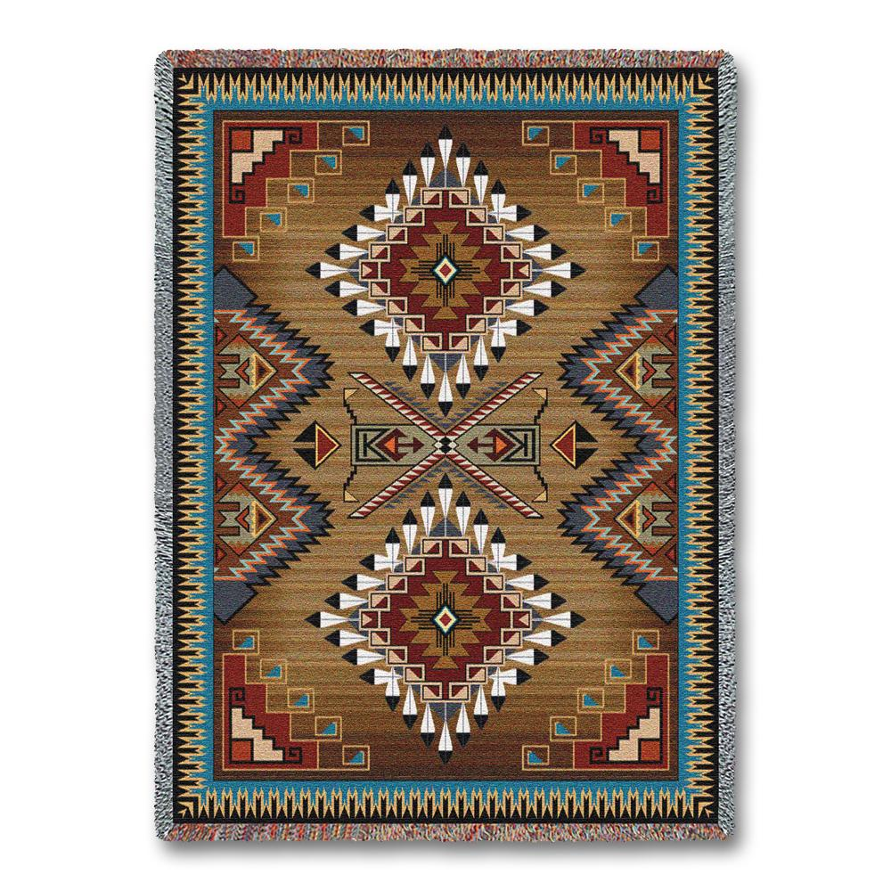 Uncategorized Southwestern Tapestry Wall Hanging southwest cornflower tapestry wall hanging indian eagle feather hanging