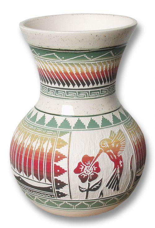 Hummingbird Vase Southwest Indian Foundation