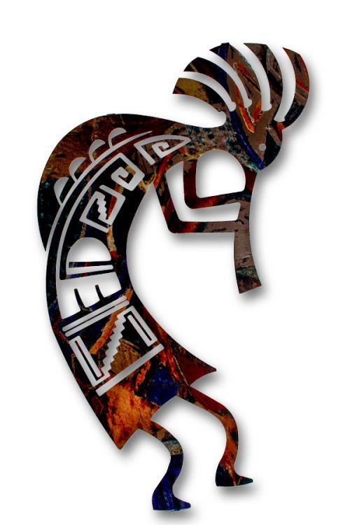 Humpback Kokopelli Wall Hanging Southwest Indian Foundation