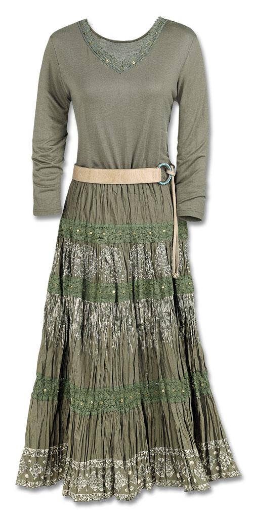 Olive Broom Skirt Dresses Amp Skirts Fashion