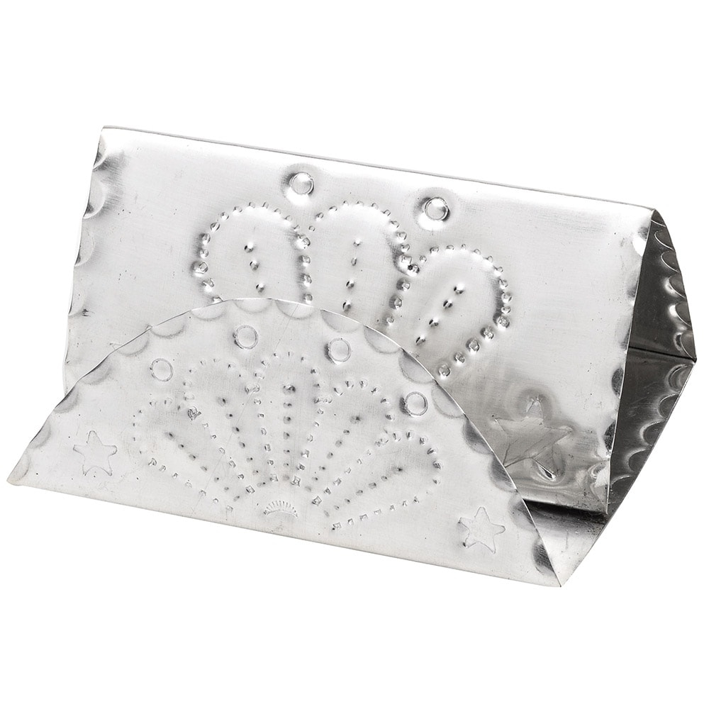 Working Mans Silver Business Card Holder