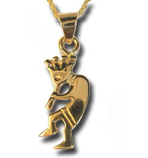 14k gold kokopelli pendant necklaces pins gold jewlery jewlery 14k gold kokopelli pendant aloadofball Choice Image