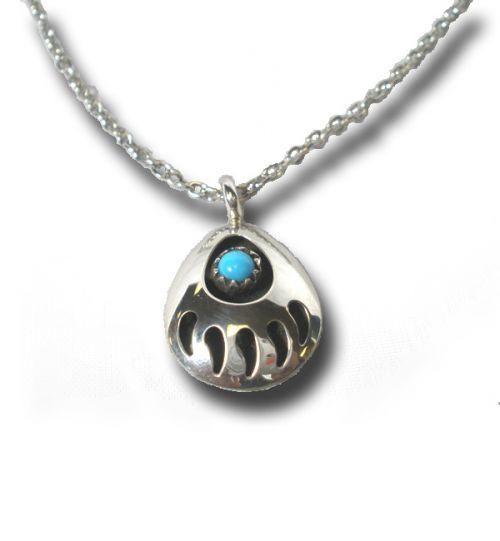 Bear claw pendant necklaces pins jewlery sterling turquoise bear claw jewelry set 9900 southwestgetinventoryemname mozeypictures Image collections