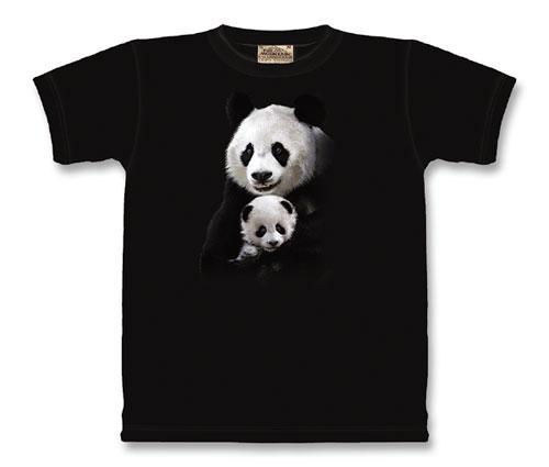 Children's Panda Cuddle SS T-Shirt