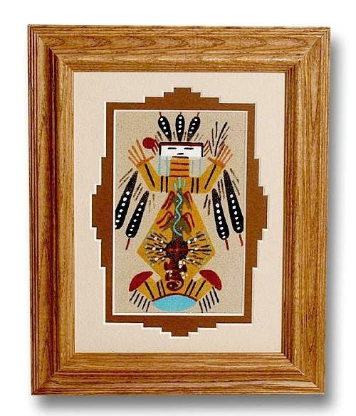 Father Sky Amp Mother Earth Sand Painting Southwest Indian