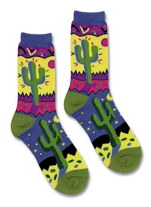 Fun Saguaro Socks Southwest Indian Foundation