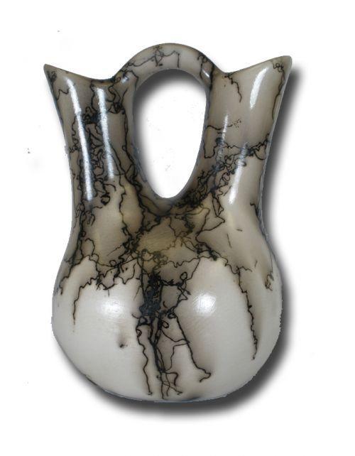 Horsehair Wedding Vase Horsehair Ceramicspottery Ceramics Native