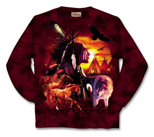 Indian Collage Long Sleeve T-Shirt