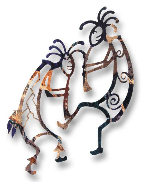 Kokopelli Wall Hanging Southwest Indian Foundation