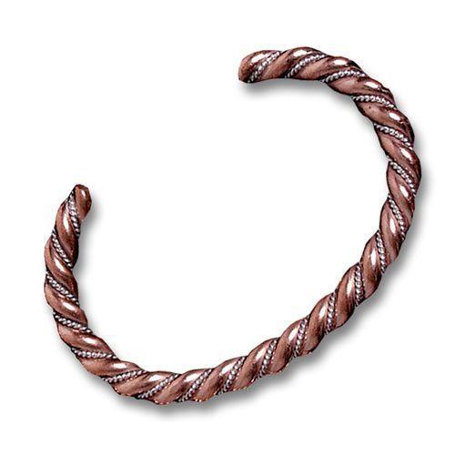 mens ladies copper sterling twist bracelet bracelets. Black Bedroom Furniture Sets. Home Design Ideas