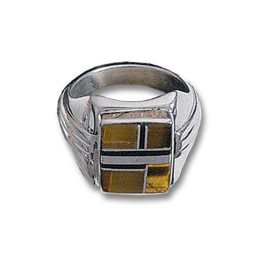 rings eye silver timeless gemstone yellow ring tiger sterling