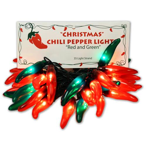 mixed chile pepper light strand
