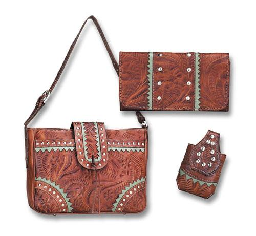 Santa Fe Purse Wallet Cell Phone Case