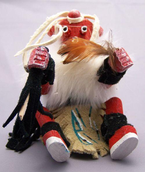 Sitting Mudhead Kachina Kachinas Native Arts