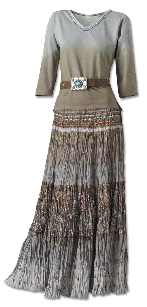 Soleido Broom Skirt