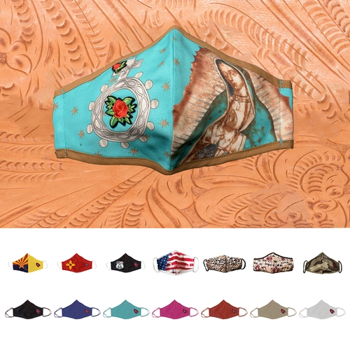 Red Feather Designer Masks