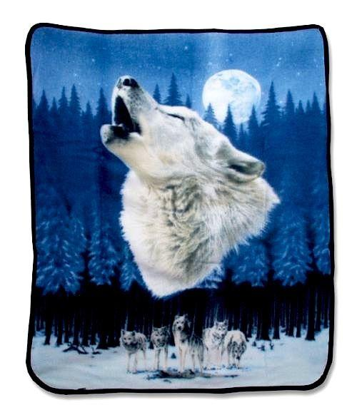 Wolf Moon Blanket Blankets For The Home